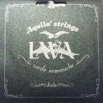 Aquila AQ-113U Lava struny ukulele koncert low g owijane