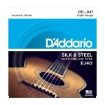 D'Addario EJ40 - Silk & Steel 11-47