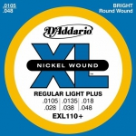 D'Addario EXL110+ XL Nickel Wound 10.5-48