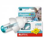Alpine Pluggies Kids zatyczki do uszu stopery dla dzieci