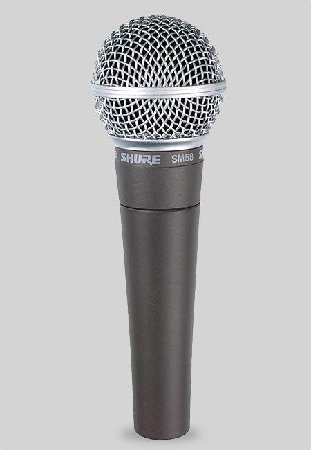 SHURE SM58-LCE - Do ręki - Dynamiczne - Mikrofony c4677bff5d