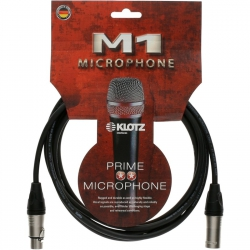 Klotz M1K1FM0030 kabel mikrofonowy 0,3m XLR-XLR