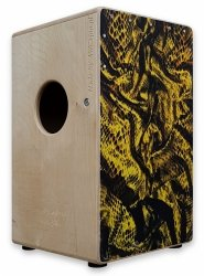 Aw Cajon SP10B25DB Yellow Impression dwustronny