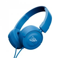 JBL T450 Niebieskie Słuchawki nauszne