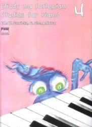Etiudy na fortepian, z. 4      Wiera Sawicka     Gabriela (ed.) Stempień