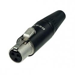 Neutrik Rean RT3FC-B wtyk mini XLR
