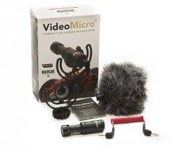 Rode VideoMicro mikrofon do aparatu kamery