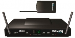 dB Technologies Moving One PT system bezprzewodowy UHF