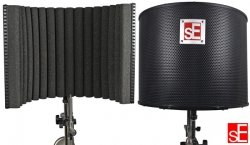 SE Electronics sE Reflexion Filter Project Studio kabina wokalna