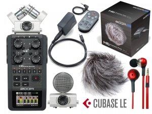 Rejestrator ZOOM H6 + APH-6 + słuchawki Mega zestaw