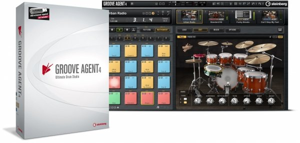 Steinberg GrooveAgent 4