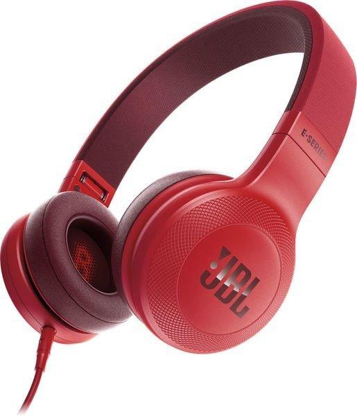 JBL E35 czerwone Słuchawki nauszne