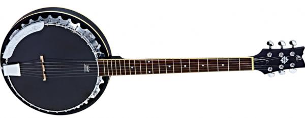 Ortega OBJE350/6 SBK Banjo 6-cio strunowe z przystawką