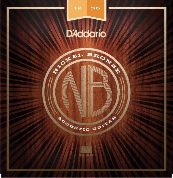 D'addario NB1256 struny akustyczne