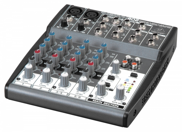 Behringer Mikser kompaktowy XENYX 802