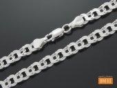 GARIBALDI łańcuch srebrny 55 cm / 6,4 mm