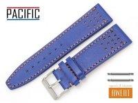 PACIFIC 24 mm pasek skórzany W28A niebieski