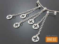 DEBAR srebrny komplet biżuterii