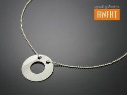WHEEL SILVER srebrny naszyjnik
