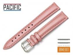 PACIFIC 16 mm pasek skórzany W114 różowy perłowy