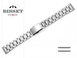BISSET 16 mm bransoleta stalowa BR106 srebrna