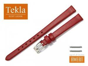 TEKLA 10 mm pasek skórzany PT26 czerwony