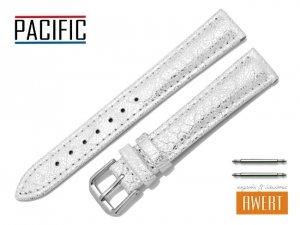 PACIFIC 16 mm pasek skórzany W123 biały