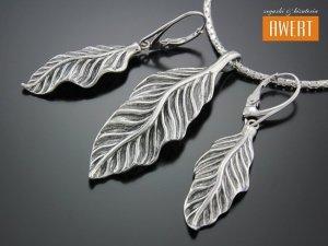 KAILU srebrny komplet biżuterii