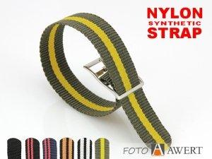 NATO eco pasek nylonowy 18 mm