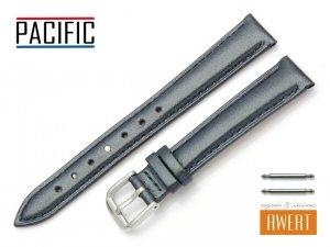 PACIFIC 14 mm pasek skórzany W114 granatowy perłowy