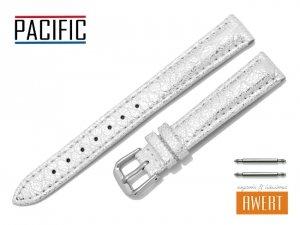 PACIFIC 14 mm pasek skórzany W123 biały