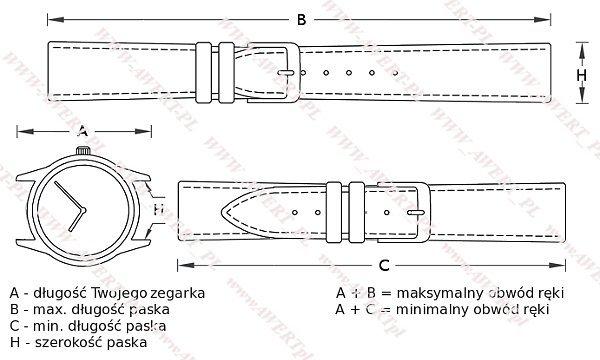 CASIO LRW-200H -7E1V oryginalny pasek 14 mm