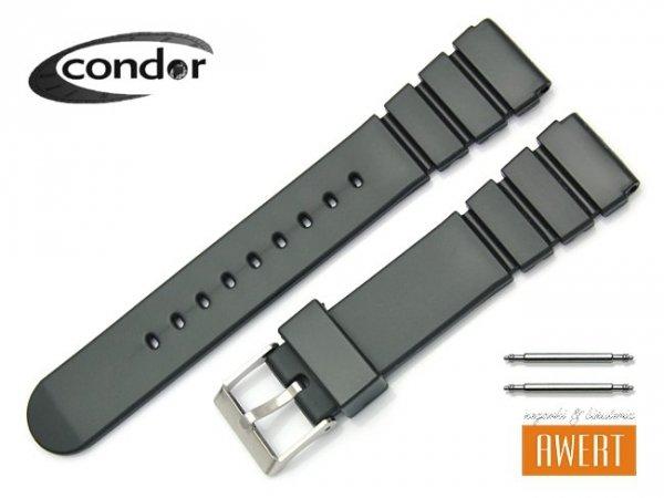 Pasek do zegarka plastik CONDOR 18mm