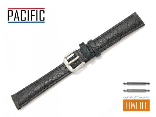 PACIFIC 14 mm pasek skórzany W123 czarny