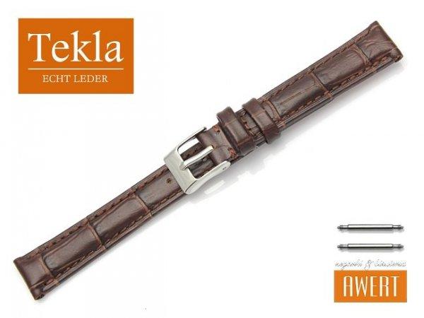 TEKLA 14 mm pasek skórzany PT41 brązowy