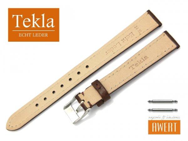 TEKLA 14 mm XL pasek skórzany PT69 brązowy