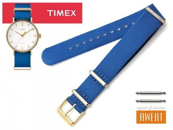 TIMEX TW2R49300 PW2R49300 oryginalny pasek 18 mm