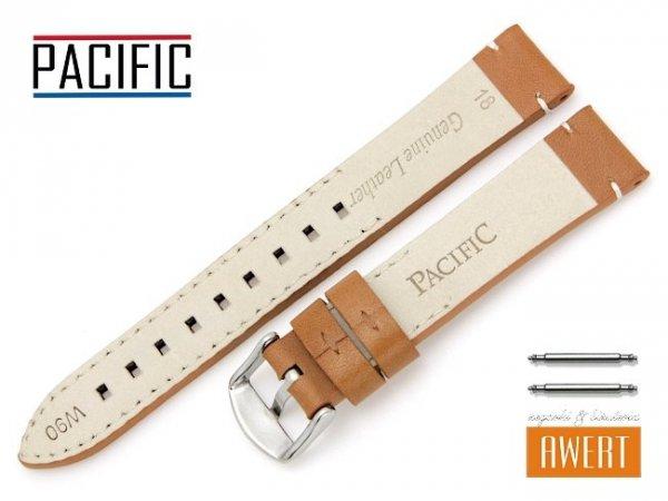 PACIFIC 18 mm pasek skórzany W90 brązowy W90-5WH-18