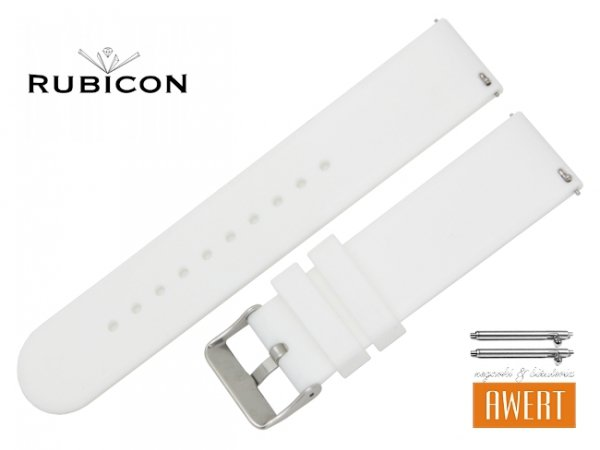 RUBICON oryginalny pasek 20 mm R41097 biały