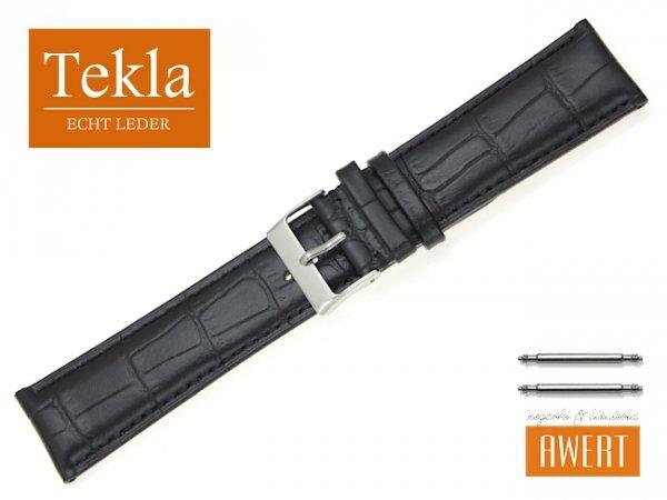 TEKLA 24 mm XL pasek skórzany PT25 czarny