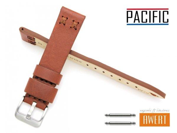 PACIFIC 20 mm pasek skórzany W79 brązowy W79-5S-20