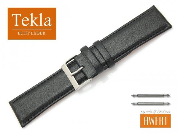 TEKLA 26 mm XL pasek skórzany PT10 czarne szycie