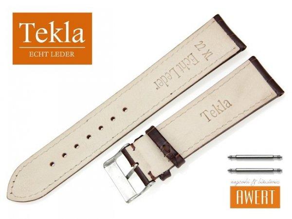 TEKLA 22 mm XL pasek skórzany PT25 brązowy