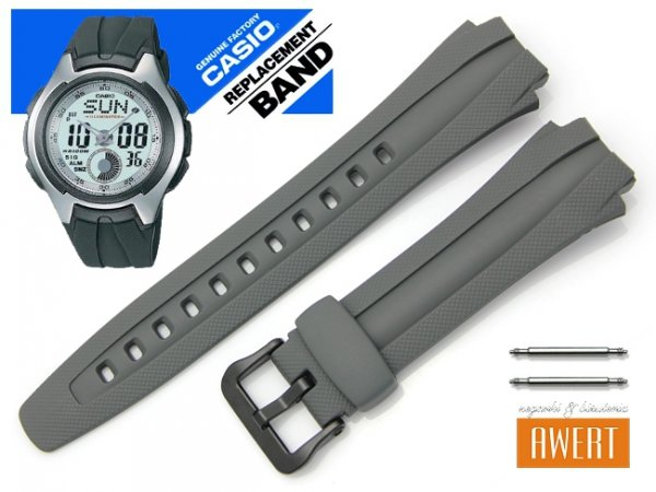 CASIO AQ-160W-7B oryginalny pasek 17 mm 10137492