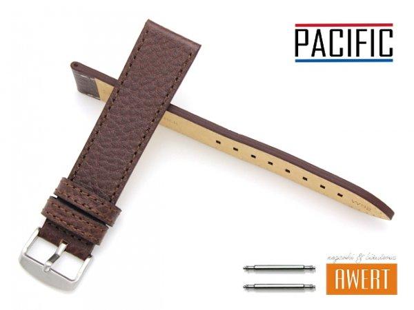 PACIFIC 22 mm pasek skórzany W92 brązowy W92-5BR-22