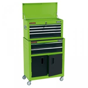 combi roller cab & chest green