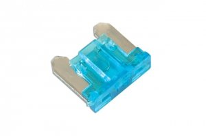 15amp Low Profile Mini Blade Fuse Pk 5