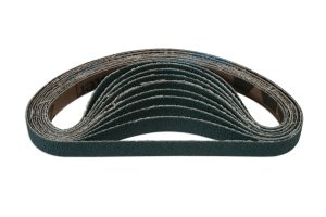 Abracs File Belts 10mm x 330mm 80g Zirconium Pk 10