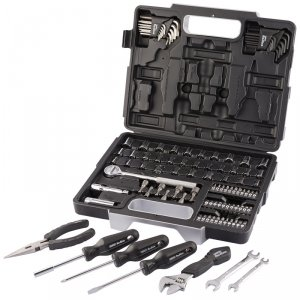 105pc home diy toolkit