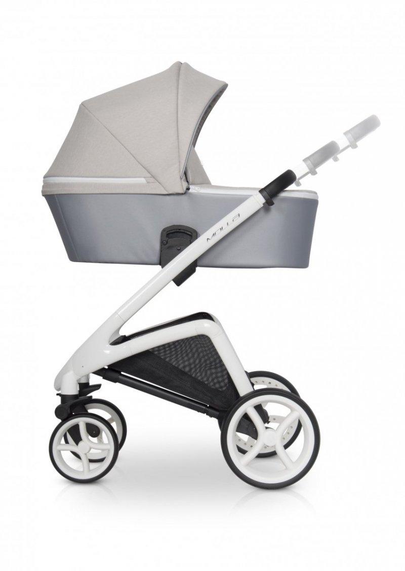 Wózek dziecięcy z samą gondolą Riko Molla 1w1 niebieski